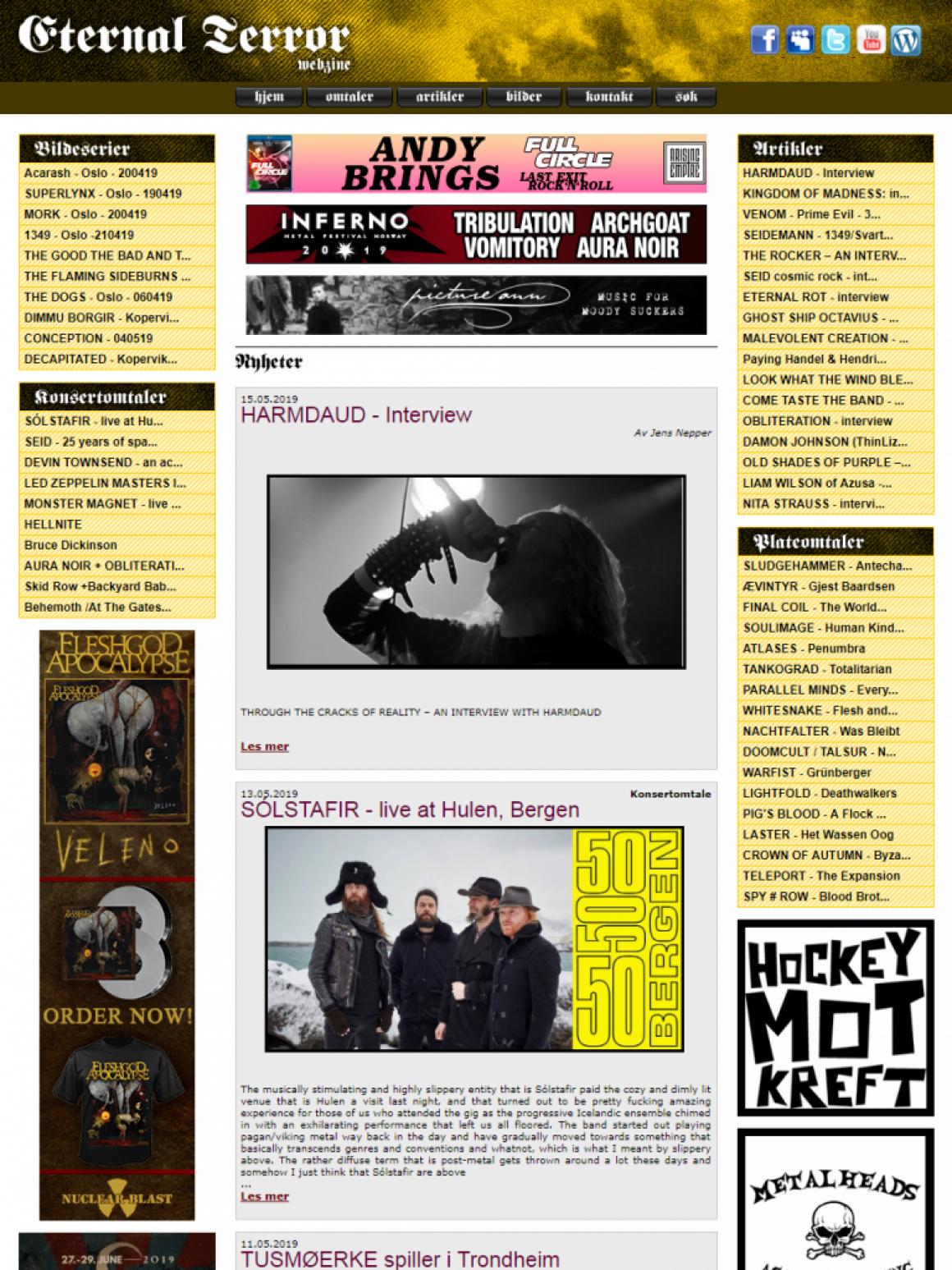 Eternal Terror Webzine