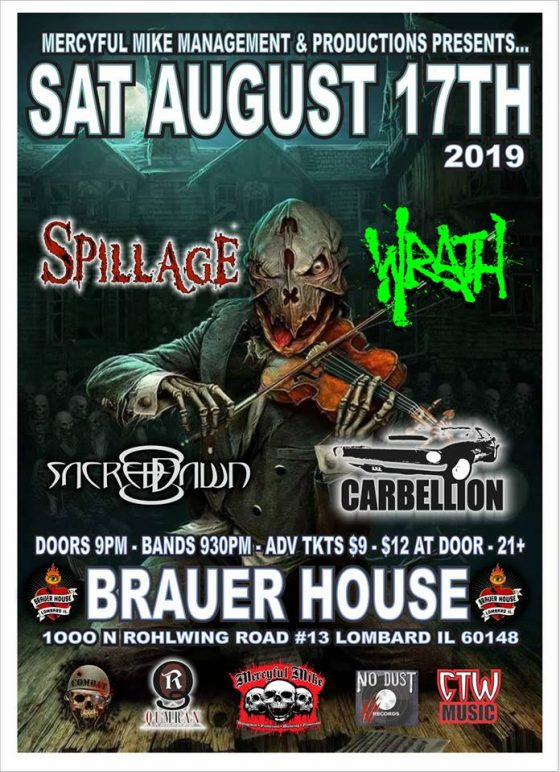 Brauer House Show Flyer
